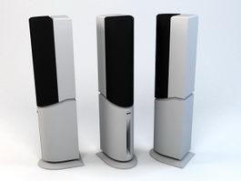 Hi-Fi Speaker 3d preview
