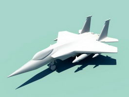 Fighter Jet 3d preview