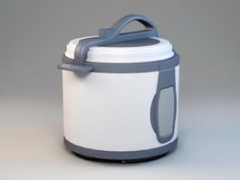 Electric Pressure Cooker 3d model preview