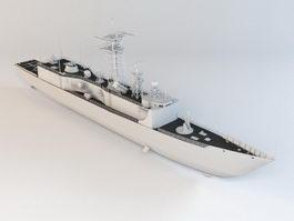 Modern Battleship 3d preview