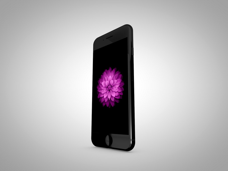 iPhone 7 3d rendering