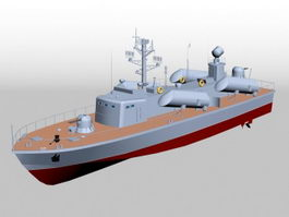 Osa-class Missile Boat 3d preview