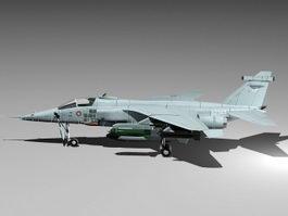 SEPECAT Jaguar Fighter Jet 3d preview