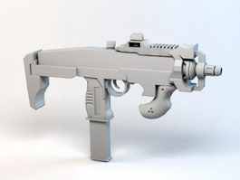 Sci Fi Assault Rifle 3d model preview