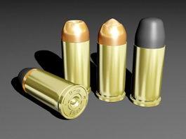 9Mm Bullet 3d model preview