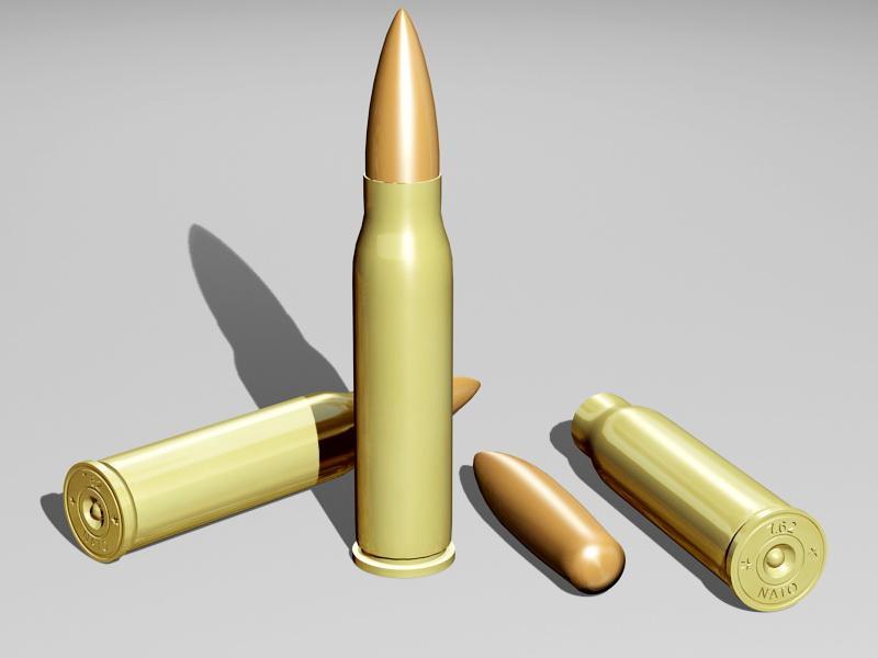 762 Bullet 3d rendering