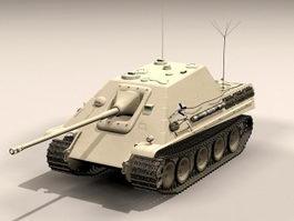 Jagdpanther Tank Destroyer 3d preview