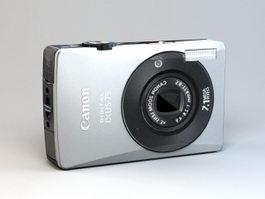 Canon IXUS 75 Camera 3d model preview