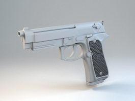 M9 Pistol 3d preview