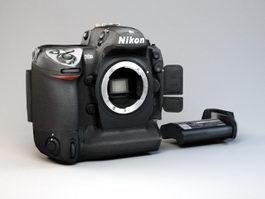 Nikon D2X Camera 3d model preview