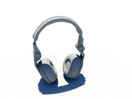 Wireless Headset 3d preview