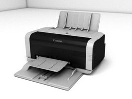 Canon Home Printer 3d preview
