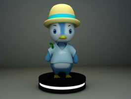 Cartoon Penguin Character 3d preview