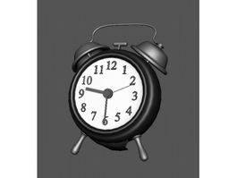 Old Alarm Clock 3d preview