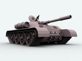 Main Battle Tank 3d model preview