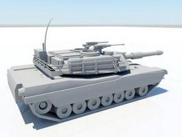 M1 Abrams Tank 3d preview