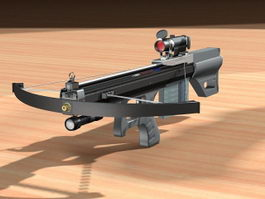 Tactical Crossbow 3d model preview