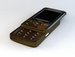 Old Slide Phone 3d model preview