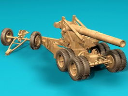 203 MM Howitzer 3d preview