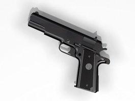 Colt M1911A1 Pistol 3d preview