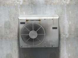 Air Conditioner Unit Outside 3d preview