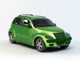 Chrysler PT Cruiser 3d preview