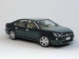 Peugeot 607 3d preview