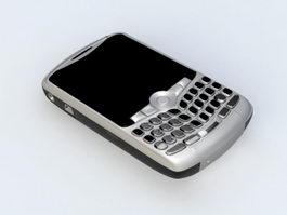 BlackBerry Smartphone 3d model preview