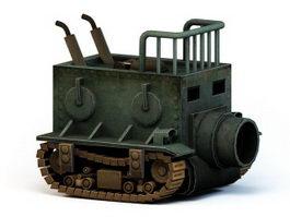 Steampunk Tank 3d preview