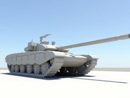 Type 99 Tank 3d preview