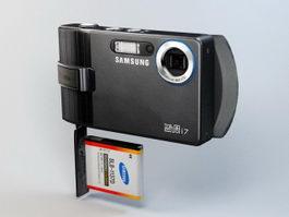 Samsung i7 Camera 3d model preview