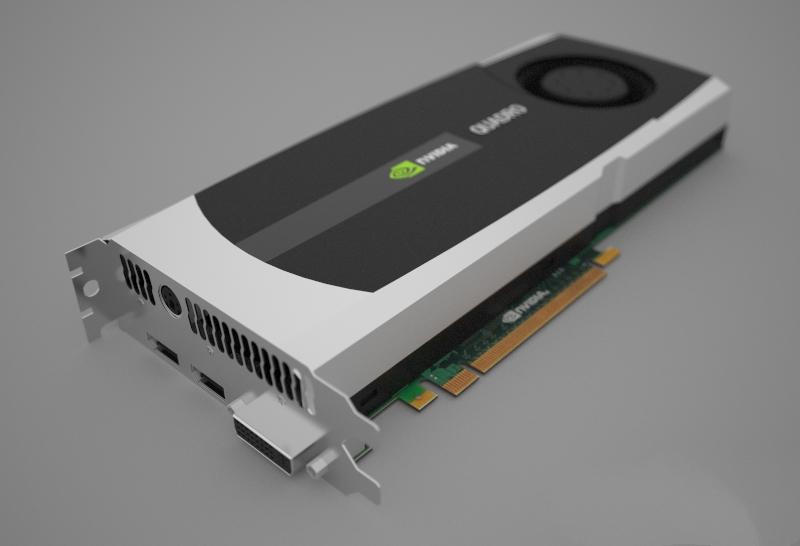 Nvidia Quadro 6000 3d rendering