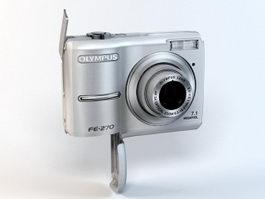 Olympus FE-270 Digital Camera 3d model preview