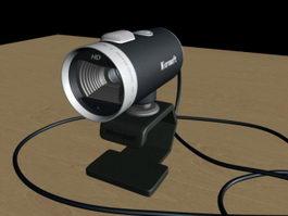 Microsoft Webcam 3d model preview