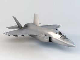 F-35 Lightning II Fighter 3d preview