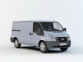 Transit Cargo Van 3d preview