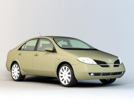 Nissan Sedan 3d preview