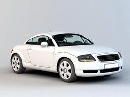 Lexus 2 Door Coupe 3d model preview