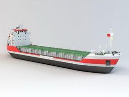 Cargo ship 3d preview