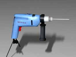 Bosch Hammer Drill 3d preview