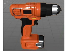 Electric Drill 3d preview