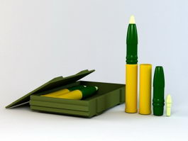 75Mm Ammo Box 3d model preview