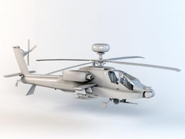 AH-64D Apache Longbow Helicopter 3d preview