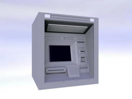 ATM Machine 3d preview