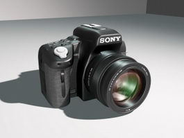 Sony DSLR Camera 3d preview