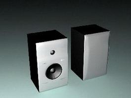 Bookshelf Loudspeakers 3d preview