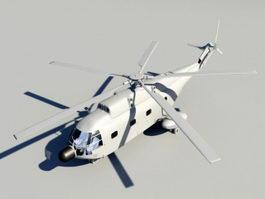 Animated SH-2 Seasprite 3d model preview