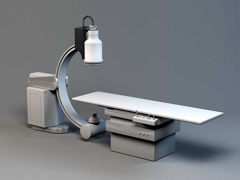Operating Room Table 3d rendering