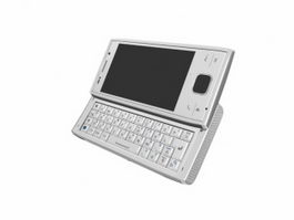 Sony Ericsson Xperia X2 3d model preview