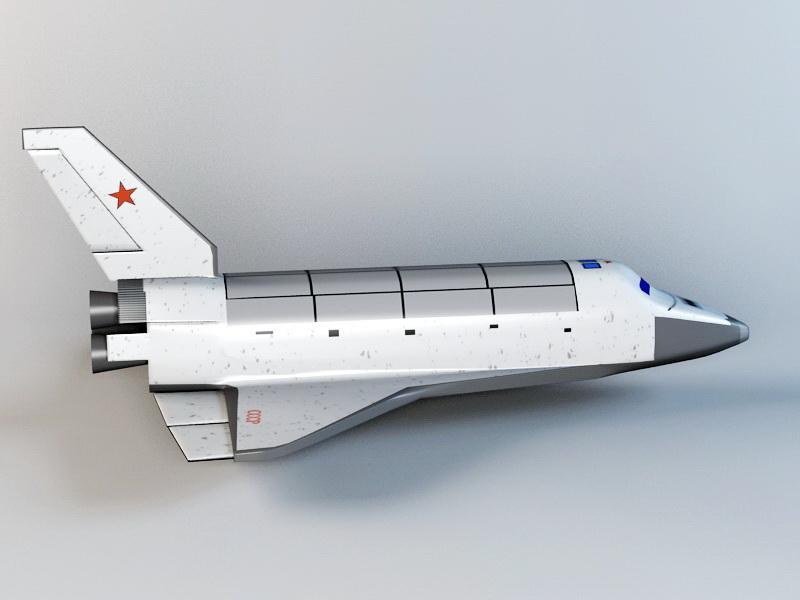 Space Shuttle 3d rendering
